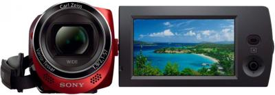 Видеокамера Sony HDR-CX220E (Red) - общий вид