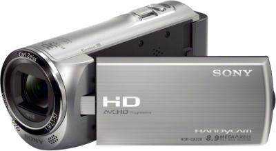 Видеокамера Sony HDR-CX220E (Silver) - общий вид