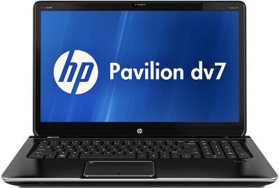 Ноутбук HP ENVY dv7-7355er (D2F86EA) - фронтальный вид