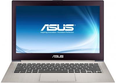 Ноутбук Asus Zenbook Prime UX21A-K1009H (90NKOA322W12315823AC) - фронтальный вид