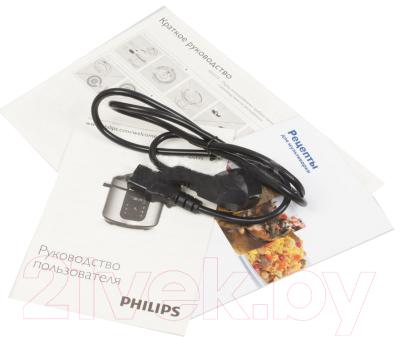 Мультиварка-скороварка Philips HD2173 (HD2173/03) - документы и кабель