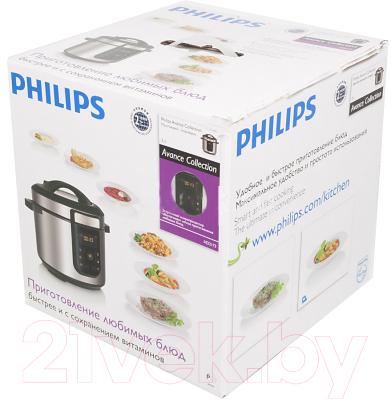 Мультиварка-скороварка Philips HD2173 (HD2173/03) - коробка