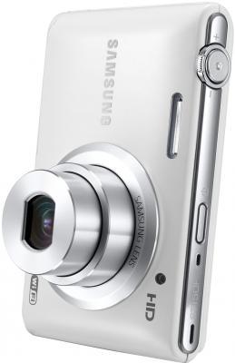 Компактный фотоаппарат Samsung ST150F White (EC-ST150FBPWRU) - общий вид