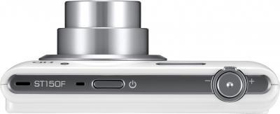Компактный фотоаппарат Samsung ST150F White (EC-ST150FBPWRU) - вид сверху