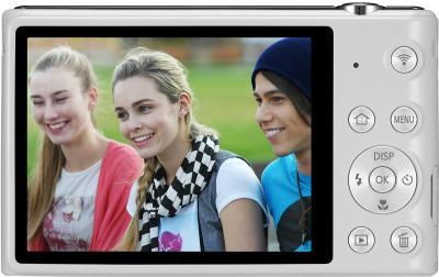 Компактный фотоаппарат Samsung ST150F White (EC-ST150FBPWRU) - вид сзади