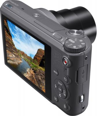 Компактный фотоаппарат Samsung WB250F (EC-WB250FBPARU) Gray - общий вид