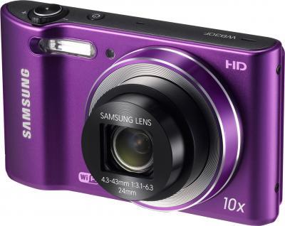 Компактный фотоаппарат Samsung WB30F Purple (EC-WB30FZBPLRU) - общий вид