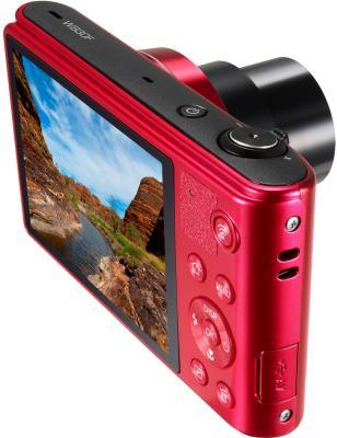 Компактный фотоаппарат Samsung WB30F Red (EC-WB30FZBPRRU) - общий вид
