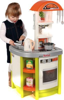 Детская кухня Smoby Кухня детская Tefal Studio (024666) - девочка за игрой