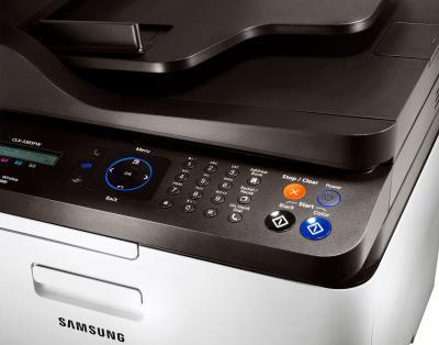 МФУ Samsung CLX-3305FW - панель управления