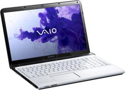 Ноутбук Sony VAIO SVE-1512D1R/W - общий вид