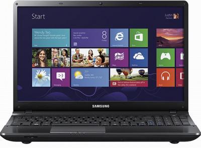 Ноутбук Samsung 310E5C (NP310E5C-A01RU) - фронтальный вид
