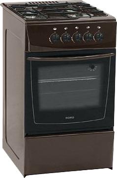 Кухонная плита Nord ПГ4-104-3А BR - общий вид