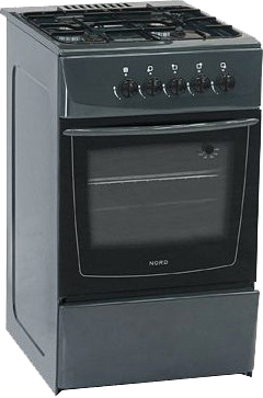Кухонная плита Nord ПГ4-104-3А GY - общий вид