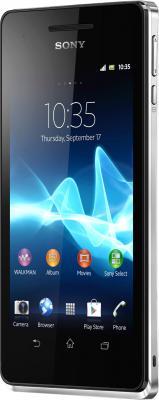Смартфон Sony Xperia V (LT25i) White - общий вид