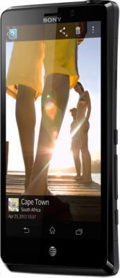 Смартфон Sony Xperia TX (LT29i) Black - общий вид