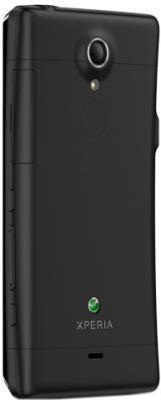 Смартфон Sony Xperia TX (LT29i) Black - вид сзади