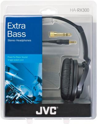 Наушники JVC HA-RX300-E - в упаковке