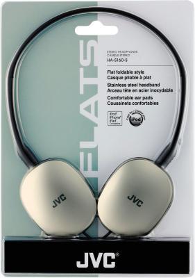 Наушники JVC HA-S160-S-E - в упаковке