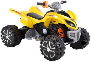 Детский квадроцикл Sundays KL108 (Желтый) - общий вид