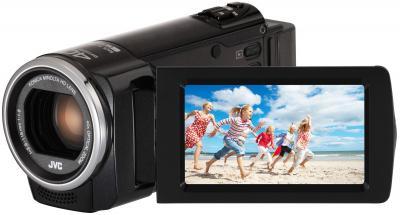 Видеокамера JVC GZ-E105B - общий вид