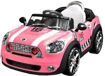 Детский автомобиль Sundays Mini Cooper JE118 (розовый) - общий вид