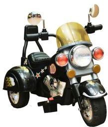 Детский мотоцикл Sundays Harley Davidson B19 Черный - общий вид