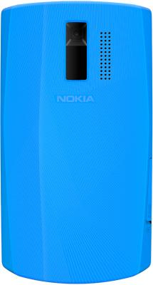 Мобильный телефон Nokia Asha 205 Dual (Cyan Dark) - общий вид