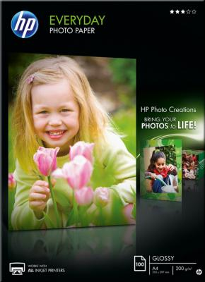Фотобумага HP Everyday Glossy Photo Paper-100 (Q2510A) - общий вид