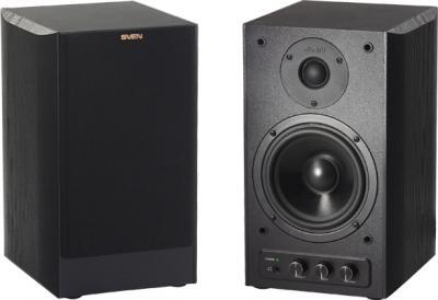 Мультимедиа акустика Sven Stream R (черный) - общий вид