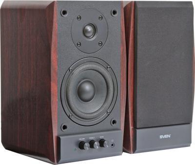 Мультимедиа акустика Sven SPS-704 (вишня) - общий вид