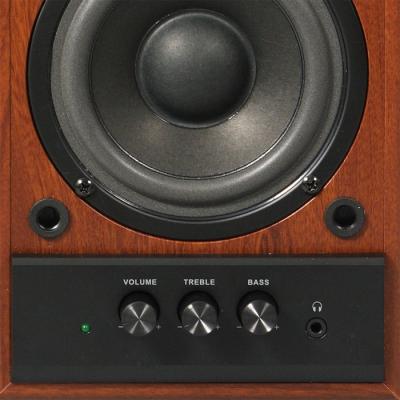 Мультимедиа акустика Sven SPS-702 (грецкий орех) - общий вид