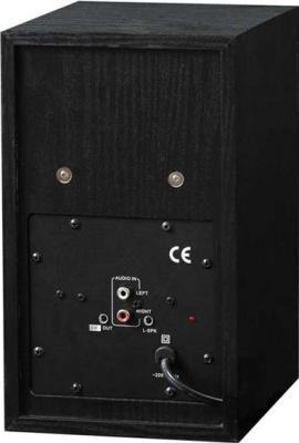 Мультимедиа акустика Sven SPS-700 (черный) - вид сзади