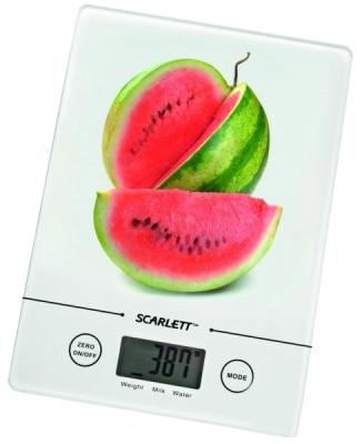 Кухонные весы Scarlett SC-1213 (White with Watermelon) - общий вид