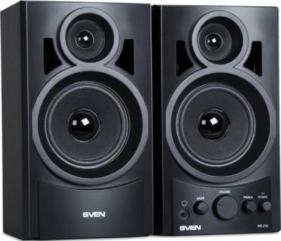 Мультимедиа акустика Sven MS-230 (черный) - общий вид