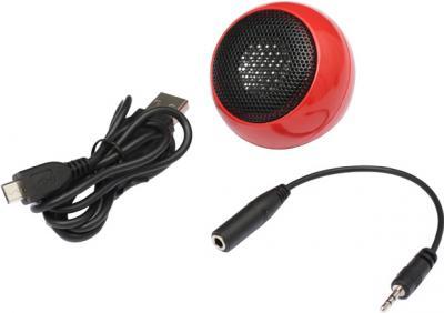 Мультимедиа акустика Sven Boogie Ball R (красный) - общий вид