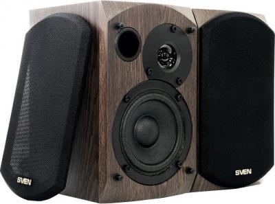Мультимедиа акустика Sven BF-01 (темный дуб) - общий вид