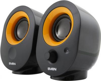 Мультимедиа акустика Sven 316 (черный) - общий вид