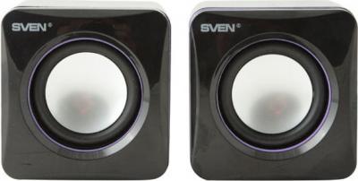 Мультимедиа акустика Sven 315 (черный) - вид спереди