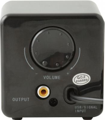Мультимедиа акустика Sven 315 (черный) - вид сзади