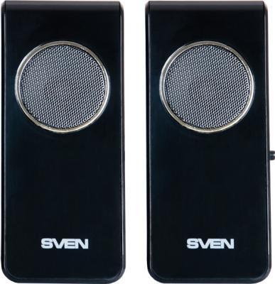Мультимедиа акустика Sven 314 (черный) - вид спереди