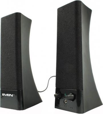 Мультимедиа акустика Sven 235 (черный) - общий вид