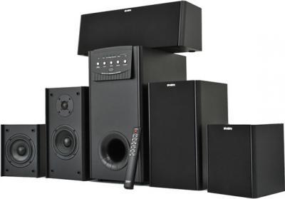 Мультимедиа акустика Sven Ihoo MT 5.1P (черный) - общий вид