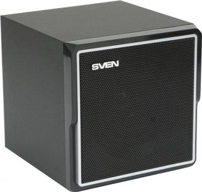 Мультимедиа акустика Sven HT-400 Black - общий вид колонки