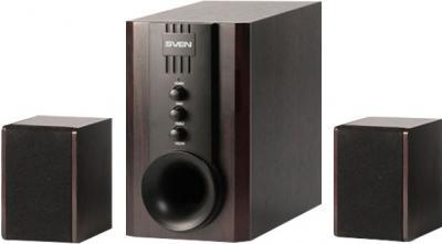 Мультимедиа акустика Sven SPS-821 (черный) - общий вид