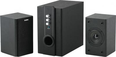 Мультимедиа акустика Sven SPS-820 (черный) - общий вид