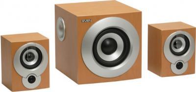 Мультимедиа акустика Sven MS-920 Light Wooden - общий вид