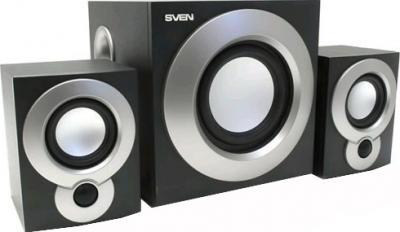 Мультимедиа акустика Sven MS-915 (черный) - общий вид