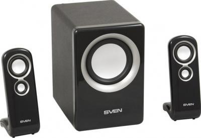 Мультимедиа акустика Sven MS-908 (черный) - общий вид