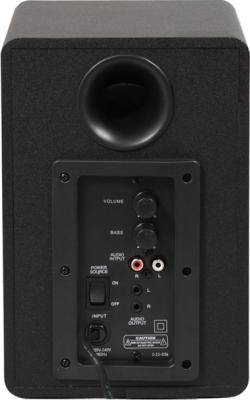 Мультимедиа акустика Sven MS-908 (черный) - вид сзади